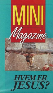 Traktat: Hvem er Jesus - Mini Magazine