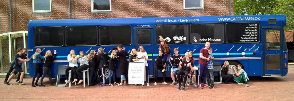 Cafébussens Efterskoleturné for skoleåret 2016/2017 er på plads
